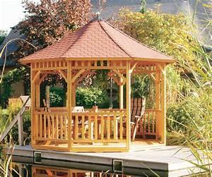 Gartenpavillon Holz Geschlossen : vacanza gartenpavillon offen von riwo impressionen ~ Whattoseeinmadrid.com Haus und Dekorationen