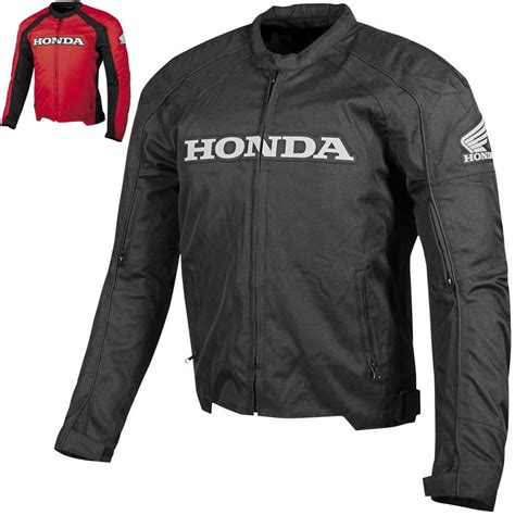 gear motorcycle jacket honda supersport textile street riding protection gear
