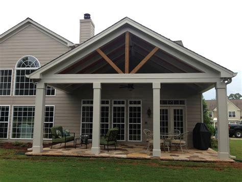 good idea front porch awning built  polymer design
