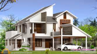 contemporary floor plans for new homes new modern house plan kerala home design and floor plans