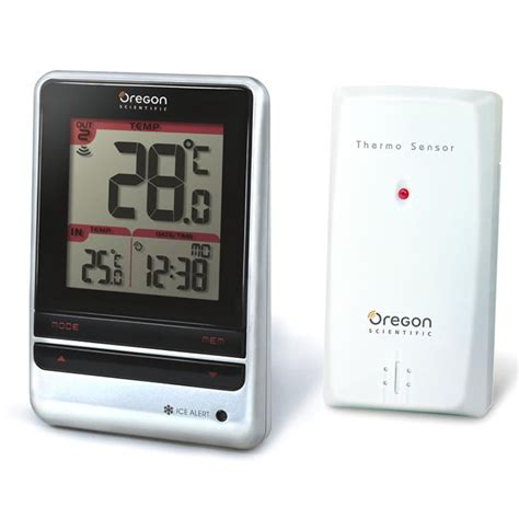 thermometre cuisine pas cher oregon scientific rmr202 rmr202s achat vente station