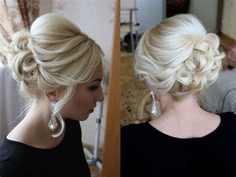 Wedding For Medium Hair : 54 Easy Updo Hairstyles For Medium Length Hair In 2017