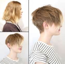 Feminine Short Haircuts with Bangs for Women