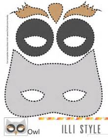 Owl Pumpkin Carving Templates Free Printable by Owl Mask On Pinterest