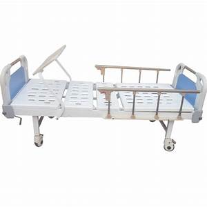 China Two Function Manual Icu Hospital Bed With 6 Crank Al