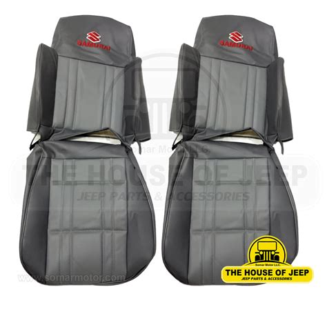 Suzuki Samurai Seat Covers by Choose Your Jeep Suzuki Samurai 1986 1995 Seats