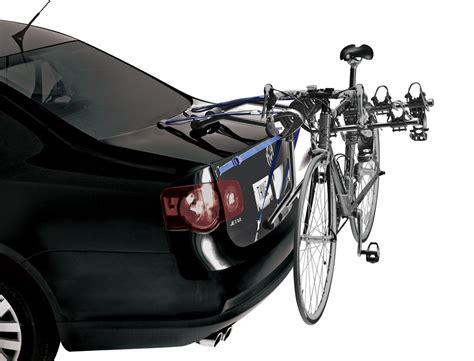 trunk bike rack thule passage trunk bike rack autoaccessoriesgarage