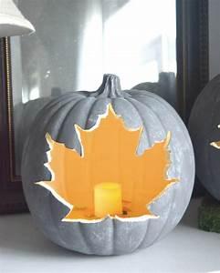 Comment Vider Une Citrouille : 9 id es diy pour d corer une citrouille pour halloween shake my blog ~ Voncanada.com Idées de Décoration