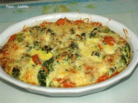 cuisiner les brocolis recettes gratin léger de brocolis et carottes au cumin recettes au