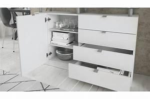 Buffet Blanc Pas Cher : buffet blanc pas cher dave cbc meubles ~ Teatrodelosmanantiales.com Idées de Décoration