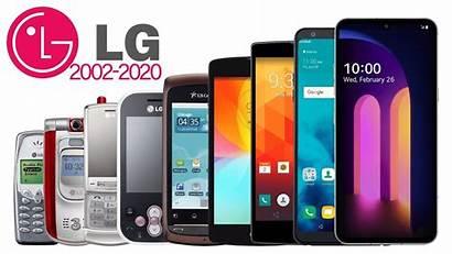 Lg Phones Evolution Smartphone 2002