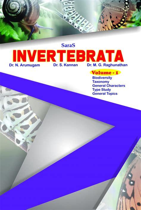 Invertebrata Volume 1 | Saras Publication - Books for NEET ...