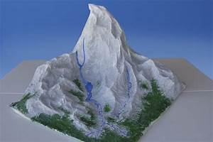How to Make a Mountain Out of Paper Mache (with Pictures