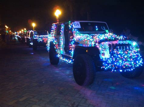 jeep christmas parade 59 th annual hollywood beach candy cane parade photo 39 s