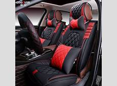 Front + Rear car seat cover universal for Nissan