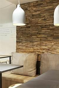 Stein Wandverkleidung Innen : wandverkleidung aus holz 95 fantastische design ideen ~ Markanthonyermac.com Haus und Dekorationen