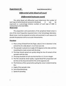 Wbc Differential Count Procedure  G0306  2019