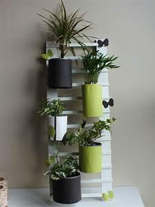 Pot A Accrocher : diy d co r cup faire une chelle pour accrocher des plantes st phanie bricole ~ Teatrodelosmanantiales.com Idées de Décoration