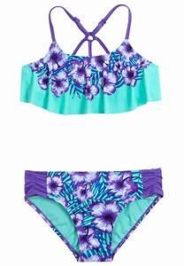 Floral Flounce Bikini Swimsuit (original price, 29.90 ...