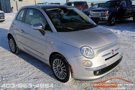 2012 Fiat 500 Lounge by 2012 Fiat 500 Lounge Hatchback Envision Auto