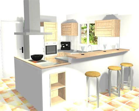 implantation cuisine ilot les projets implantation de vos cuisines 8825 messages