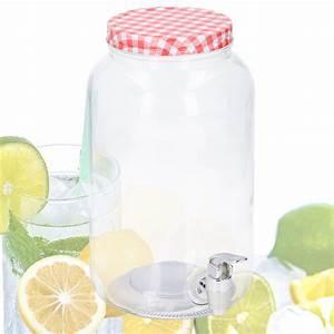 Getränkespender Glas Mit Zapfhahn : saftspender 3 liter glas mit zapfhahn wasserspender getr nkespender ebay ~ Markanthonyermac.com Haus und Dekorationen