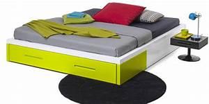 Lit 140 Avec Tiroirs Rangement : la nouvelle collection de meubles kolorcaz des 3 suisses rangement lit ~ Teatrodelosmanantiales.com Idées de Décoration