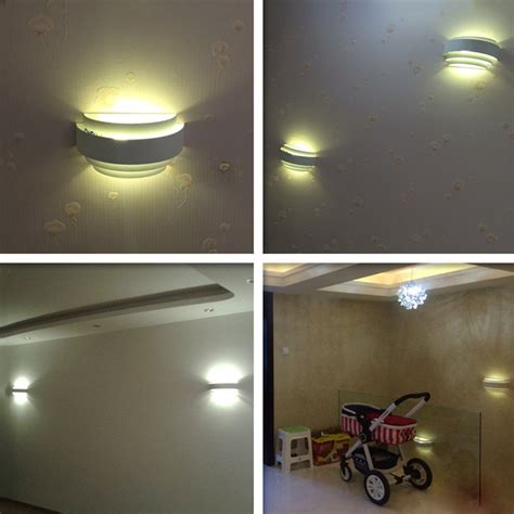 eastroad semicircle iron led wall l wall light