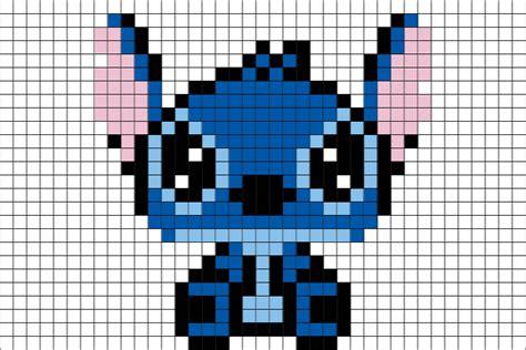 Stitch Disney Pixel Art