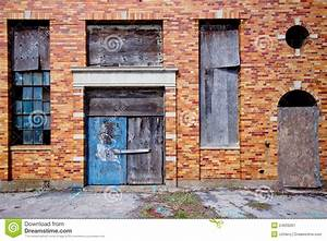 Abandoned Building Exterior Stock Image - Image: 24933261