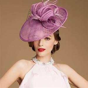 ladies sinamay wedding fascinator hats elegant bridal With dress hats for weddings
