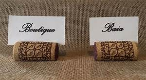 Marque Place Fait Maison : marque place en bouchons de li ge d co mariage fait main ~ Preciouscoupons.com Idées de Décoration