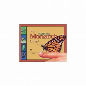 My Monarch Journal Book: Butterfly Life Cycle Book ...