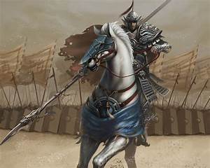 Knight in White Horse by QiangXiang on DeviantArt