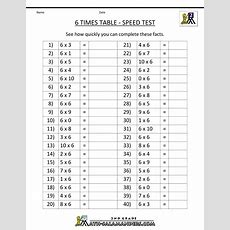 Printable Math Times Tables Worksheet  Times Table  Maths Ideas  Pinterest  Maths Times
