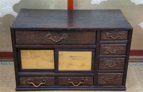 Antique Chadansu Japanese Furniture 1900 Japan Cabinet