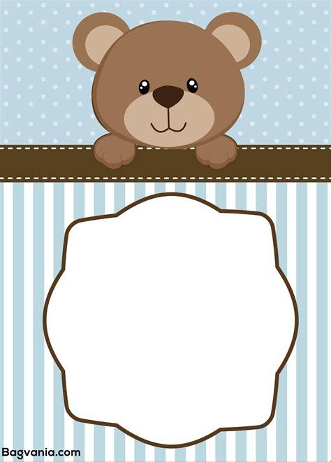 teddy template free teddy birthday invitation templates bagvania free printable invitation template