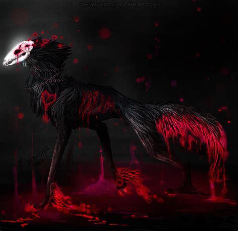 Collab: Skull Wolf by Darkside-Cookie on DeviantArt