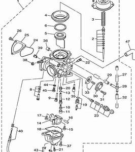 4 Best Images Of Yamaha Grizzly 600 Carburetor Diagram