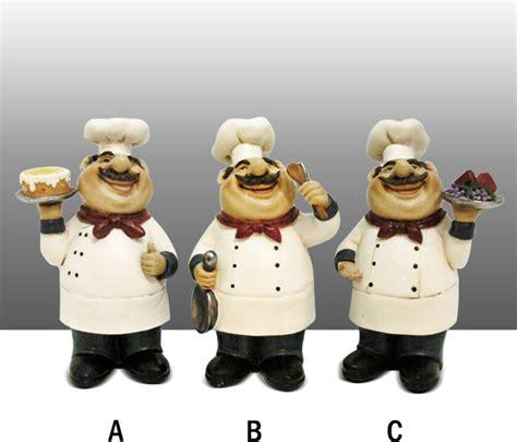 fat chef kitchen statue figure table art decor complete