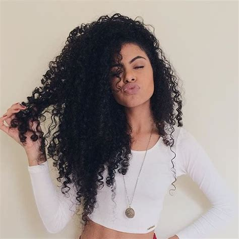 style hair steffany borges curly hair style 7997