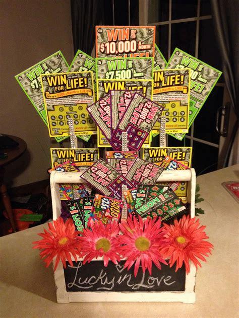 lotto basket  jack jill raffle gift baskets