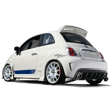Fiat 500 Spoiler by Fiat 500 Spoiler For Abarth And Turbo Sport Pop 500