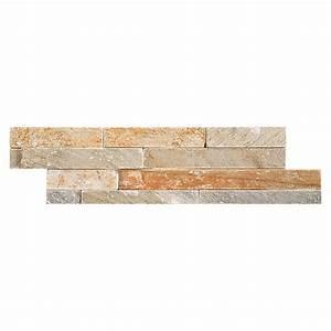 Verblender Kunststoff Steinoptik : palazzo ambiente naturstein brick 10 x 40 cm beige matt bauhaus ~ Michelbontemps.com Haus und Dekorationen