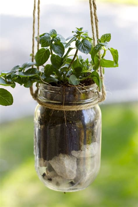 17 best ideas about jar planter on