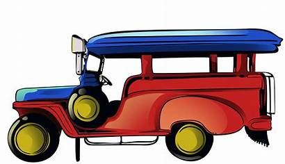 Jeepney Drawing Jeep Clipart Pilipinas Wrangler Transparent