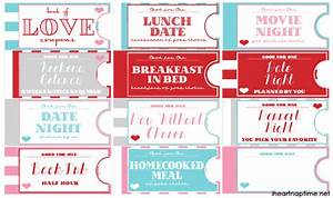 printable love coupon book the perfect valentine39s day gift With love coupons for him template