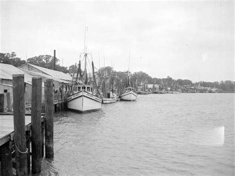 jacksonville fishing boats florida dock toward looking floridamemory