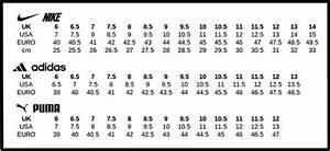 Puma Shoe Size Chart In Cm India Grandt 39 S Auto Repair