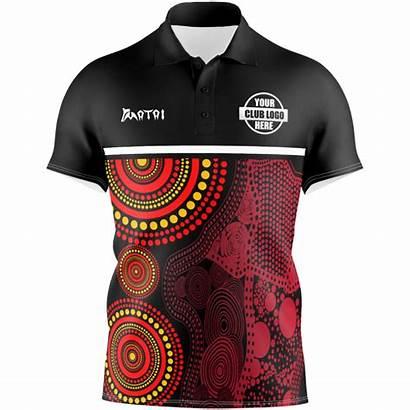 Polo Sublimated Shirts Indigenous Pro Sleeve Sports